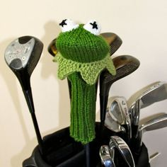 golf head cover knitting pattern - Buscar con Google