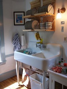 Over the sink drying rack. The perfect solution.