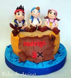 Jake and Pirates Cake