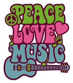 1960s - Peace ♥ Love ♥ Music