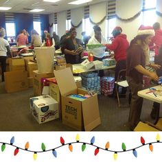 Our warehouse opens up next week and we need your help to get all the presents organized wrapped and ready to be delivered to our adopted families!   Head to our website to sign up for volunteer shifts!