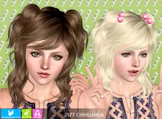 Emma's Simposium: Free Hair Pack #50 By Newsea - Donated/Gifted!!!