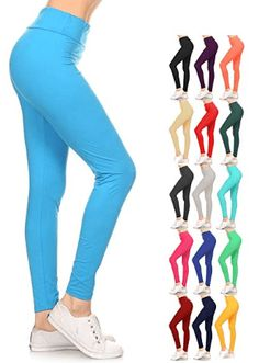 2ad9b5de1ae0 Leggings Depot Yoga Waist REG Plus Women s Buttery Soft Leggings