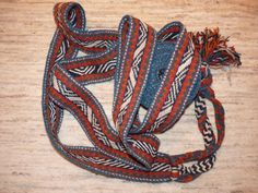 Bakhtiari horse band for tying the migration loads, 610x7cms, dates from about 1940, excellent complete condition.