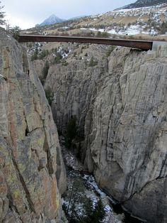 Sunlight Creek Bridge, Chief Joseph Highway, Wyoming