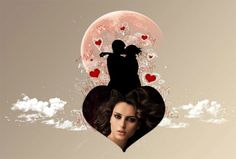 Fotoefectos online de Amor para crear totalmente gratis.