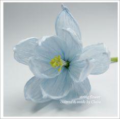 Tutorial crepe flowers