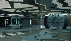 Image result for spaceship interior