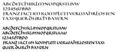 Calligraphy Templates, Math Equations