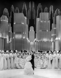 Broadway Melody of 1938via ladylikelady Late 1930s Art Deco musical set. I have the Busby Berkeley DVD boxed set so I certainly appreciate. ladylikelady: Broadway Melody of 1938 (1937) Robert Taylor and Eleanor Powell