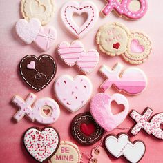 Williams Sonoma Valentine Cookie Stamps, Set of 3