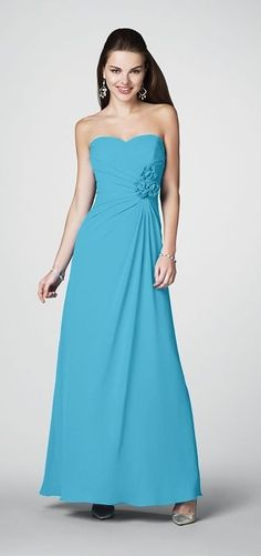 Alfred Angelo - Style 7180 Bridesmaid Dress - Blue Box