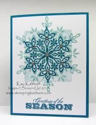 festive flurry stampin up - Google Search