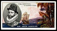 "https://flic.kr/p/995ww1 | Cigarette Card - Sir John Hawkins | Smith's Cigarettes ""Famous Explorers"" (series of 50 issued in 1911) #37 Sir John Hawkins 1532-1595 ~ English navigator and merchant"