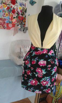 Sewing floral skirt - DelydeyDesign fashion