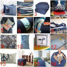Denim Pillows