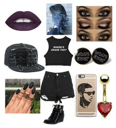 """""""Drake"""" by chasingdreams16 ❤ liked on Polyvore featuring Top Moda, Casetify, Bling Jewelry, DRAKE, views and 60secondstyle"""