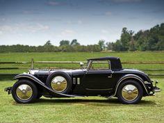 1928 Mercedes Benz 680S Torpedo Roadster Saoutchik