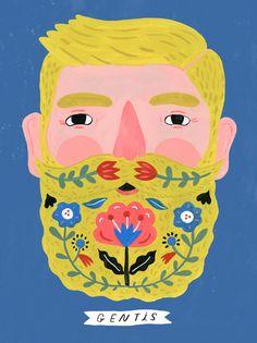 Bearded Gentleman Gentis/Folk Science Series by Tigersheepfriends