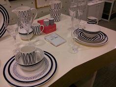 Navy & White Dishes