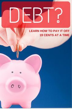How to pay off debt.