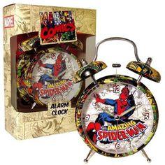 Marvel Retro Spiderman Alarm Clock