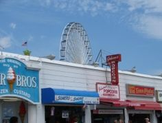 Ocean City, NJ We bought custard & carmel popcorn from both of these places on the boardwalk :)