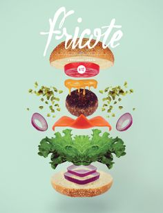 Fricote: great little French food and graphic design magazine. Food Graphic Design, Food Design, Print Design, Layout Design, Design Design, Magazine Cover Design, Print Magazine, Magazine Wall, Magazine Covers