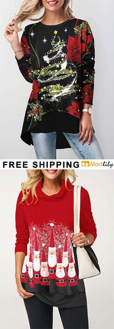 Ideas for travel outfit winter car sweaters Christmas Shirts, Christmas Outfits, Christmas Sweaters, Christmas Clothing, Christmas Bells, Winter Travel Outfit, Winter Outfits, Holiday Fashion, Autumn Winter Fashion
