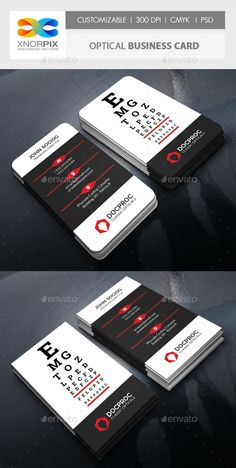 Optical Business Card - Corporate Business Cards