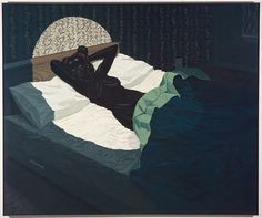Kerry James Marshall, Nude (Spotlight), 2009. Courtesy of Defares Collection, Netherlands.