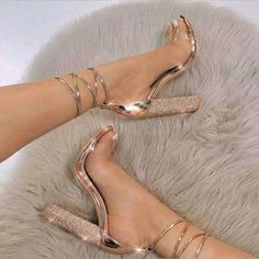 714d1ade3 big size 34-43 Women Heeled Sandals Bandage Rhinestone Ankle Strap Pumps  Super High Heels 11 CM Square Heels Lady Shoes NN-59. Saltos TumblrSaltos  Altos ...