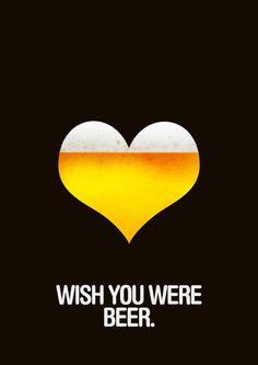 Queria que você fosse cerveja