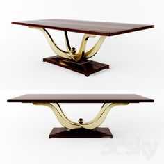 3d models: Table - dining table - Fontain