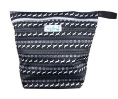 Nordic Stag - Our On-the-Go Wet/Dry Bag is the PERFECT double compartment wetbag for daytime outings, daycare, swim/gym class. Just bring it all home and wash! Holds 6-8 cloth diapers and keeps wet and dry items separate.