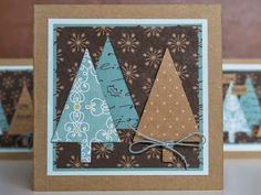 Each Card is Unique: Weer wat kerstkaartjes