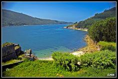 Cala al lado del castillo de San Felipe, Ferrol A Coruña.