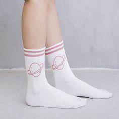 Autumn/winter Fashion Love Heart Embroidery Women Socks Pure Color Streets Japanese Harajuku College Style Socks Antiskid Sox Be Novel In Design Women's Socks & Hosiery