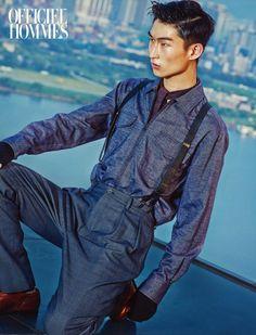 Kim Sang Woo - L'Officiel Hommes September '15