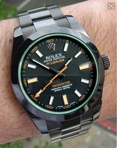 Rolex Oyster Perpetual Milgauss Pro Hunter