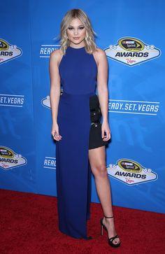 Olivia Holt at the 2016 Nascar Sprint Cup Series Awards, Las Vegas (2 December, 2016)