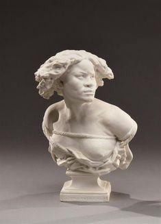 Jean-Baptiste CARPEAUX, Pourquoi naître esclave, 1875, musée des Beaux Arts de Reims Sevres, Carpeaux, Orsay, Jean Baptiste, Reims, Expo, Biscuit, Sculptures, History