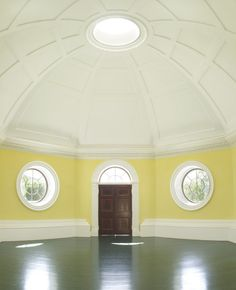 Dome Room, Monticello, photographed by Pieter Estersohn