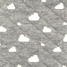 Tissu Matelassé Sur un nuage de rêve x 10cm - Ma Petite Mercerie