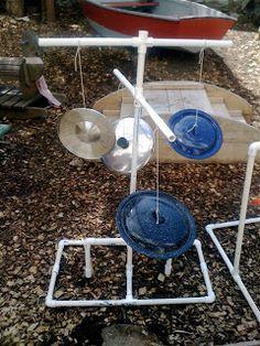 Teacher Tom: The Sound Garden  ≈≈ For more inspiring pins: http://pinterest.com/kinderooacademy/auditory-play/