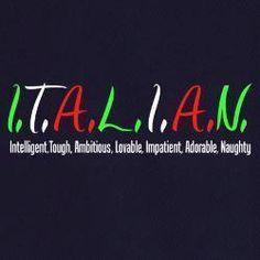 #Italian #Acronym