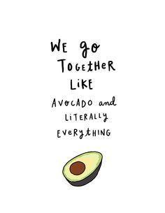 Avocado Quotes, Designs and Clipart / Guacamole Avocado Toast, Avocado Guacamole, Avocado Baby, Cute Avocado, Avocado Dessert, Avocado Picture, Clipart Png, How To Cut Avocado, Frases