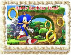 awesome sonic cake for sale - Google Search