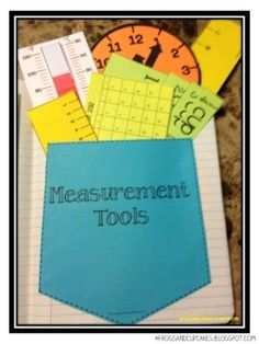 Measurement and Math Notebook ideas by eileen.thomson.52