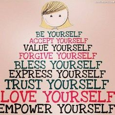 Be yourself, empower yourself love life quotes quotes quote life bless trust girl